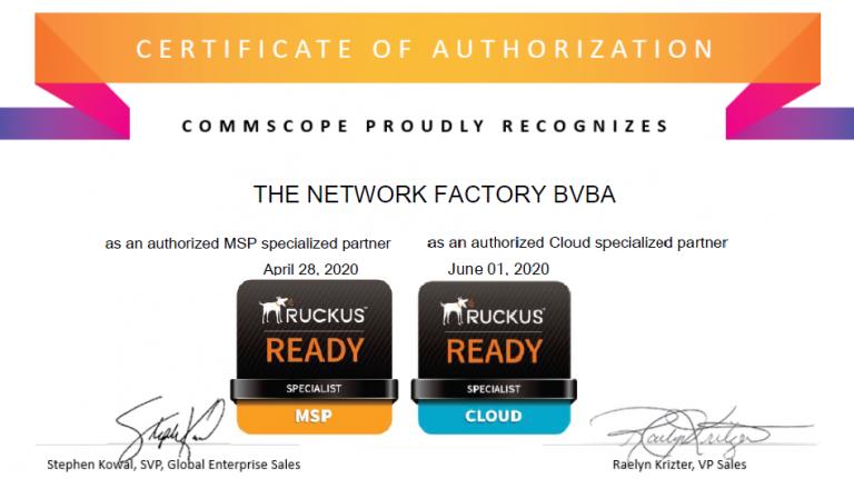 MSP&Cloud certificate